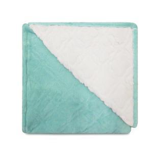 Cobertor Glamour Sherpa Queen Aqua - Appel