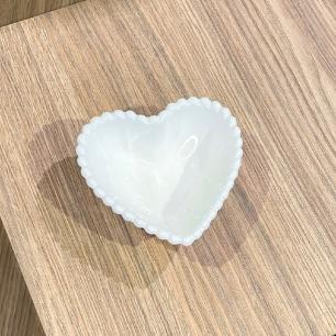 Bowl Coração Cerâmica Médio 10.5 x 10 x 3,5 cm