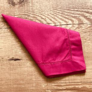 Jogo 4 Guardanapos À Jour Pink Casa Argivai