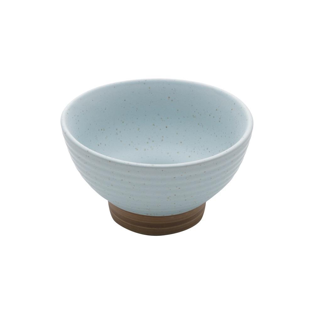 Conjunto 2 Bowls Cerâmica Romance Verde 500ml