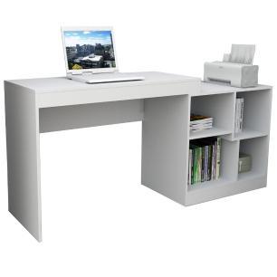 Mesa para Computador Notebook Escrivaninha Moove ESC 3001 Branco - Appunto