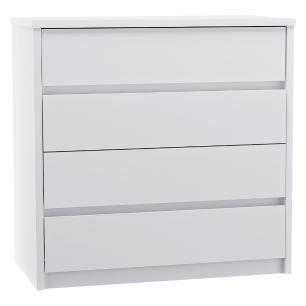 Cômoda 4 Gavetas Blank F04 Branco Mpozenato