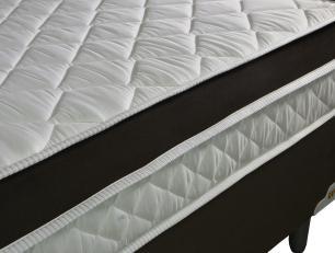 Colchão Casal de Molas Ensacadas e Pillow Revolution 138x188x22 Marrom