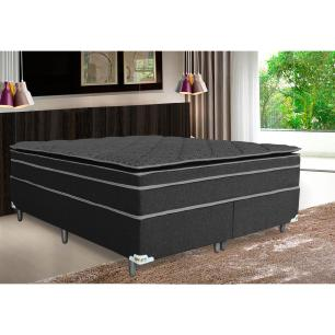 Cojunto Cama Box Queen Confortline Double Pillow (158x198x66)