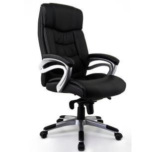Cadeira Escritório Presidente Zurique Preta Conforsit 3802