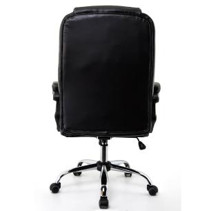 Cadeira Escritório Presidente  Madrid Preta Conforsit 3800