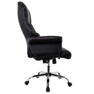 Cadeira Escritório Presidente Moscou Preta Conforsit 4651