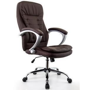Cadeira Escritório Presidente Turim Marrom Conforsit 4537
