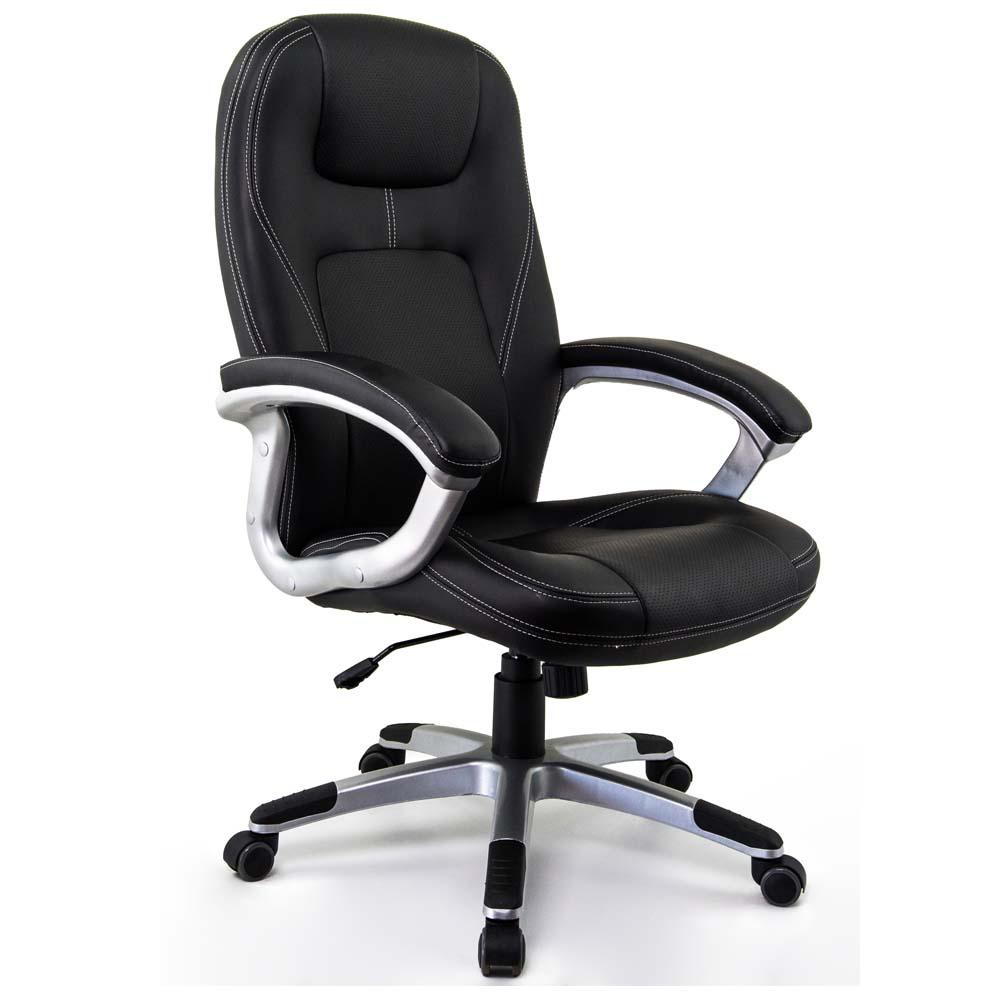 Cadeira Escritório Presidente Copenhagen Preta Conforsit 3799