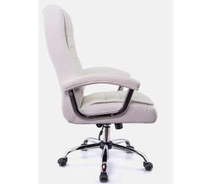Cadeira Escritório Presidente Monique Branca Mola Ensacada Conforsit 4649
