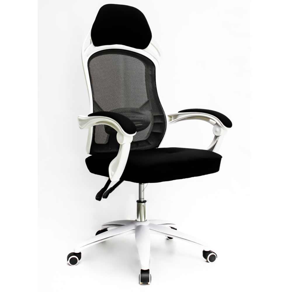 Cadeira Escritório Presidente Gamer Branca Conforsit 4534