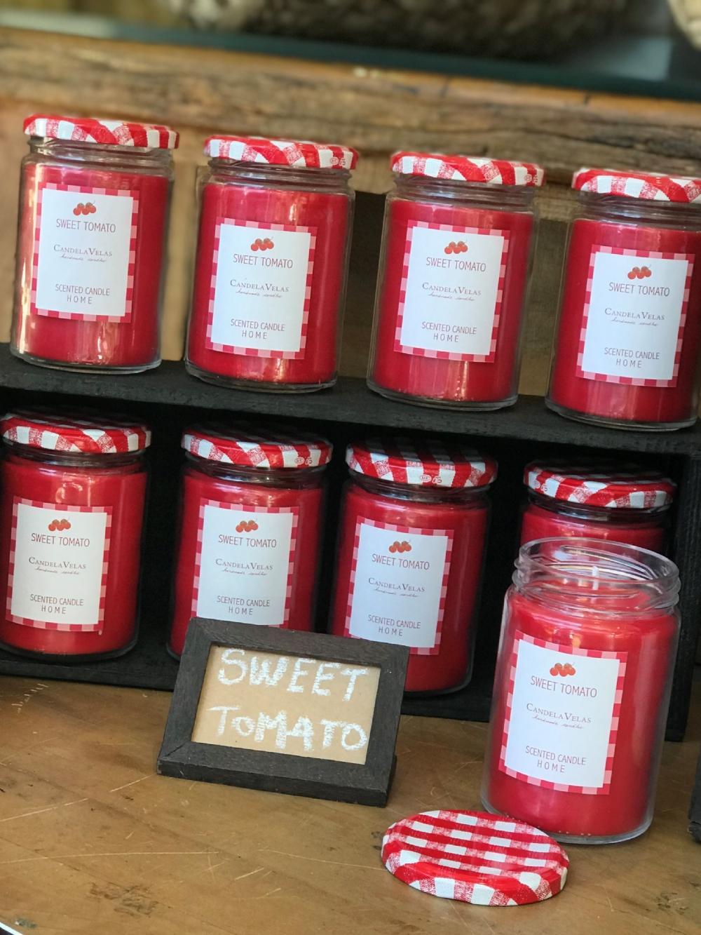 Vela Aromática Pote Sweet Tomato