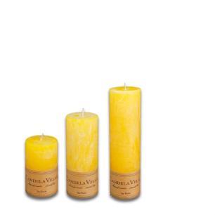 Kit de Velas Perfumada Citronela 6 x 10,15 e 20cm