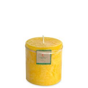 Vela Cilíndrica 9,5x10 Cm Citronela