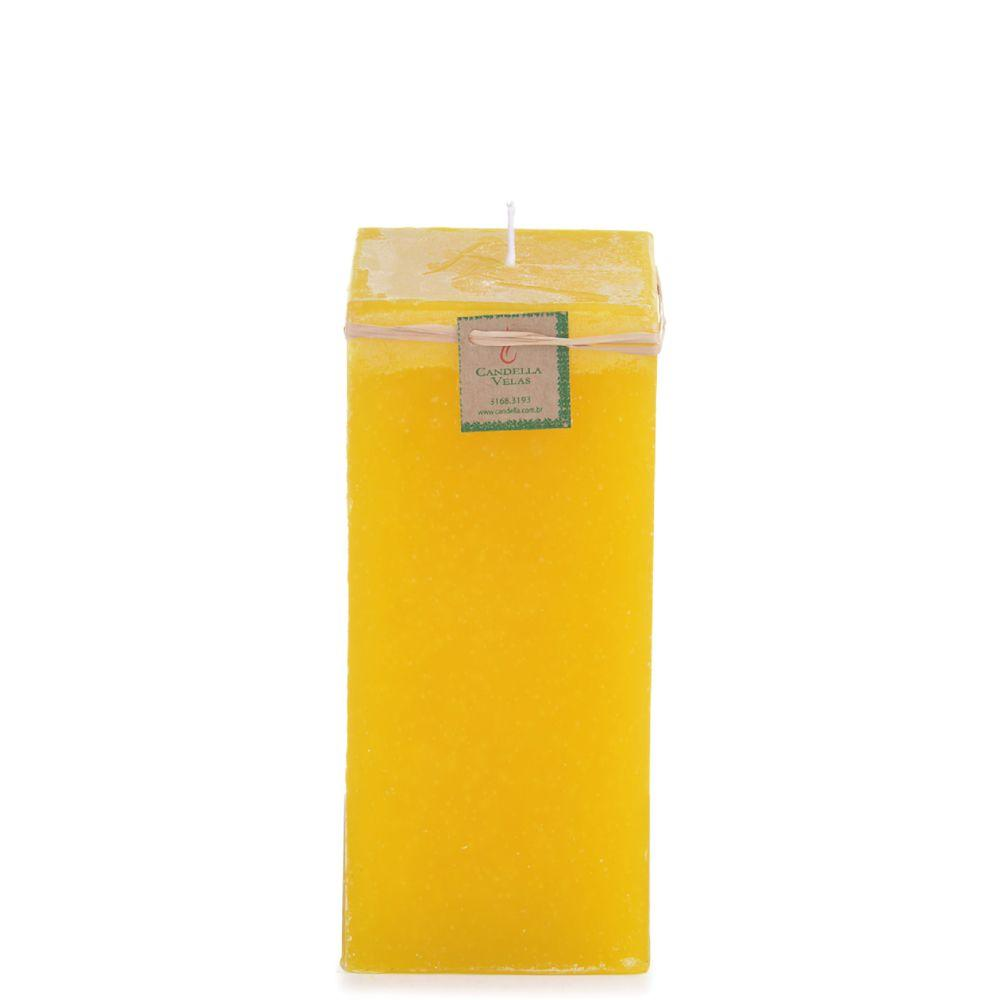 Vela de Citronela 10x20 Cm Quadrada