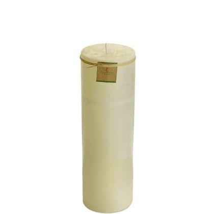 Vela Cilíndrica 9,5x30 Cm Marfim