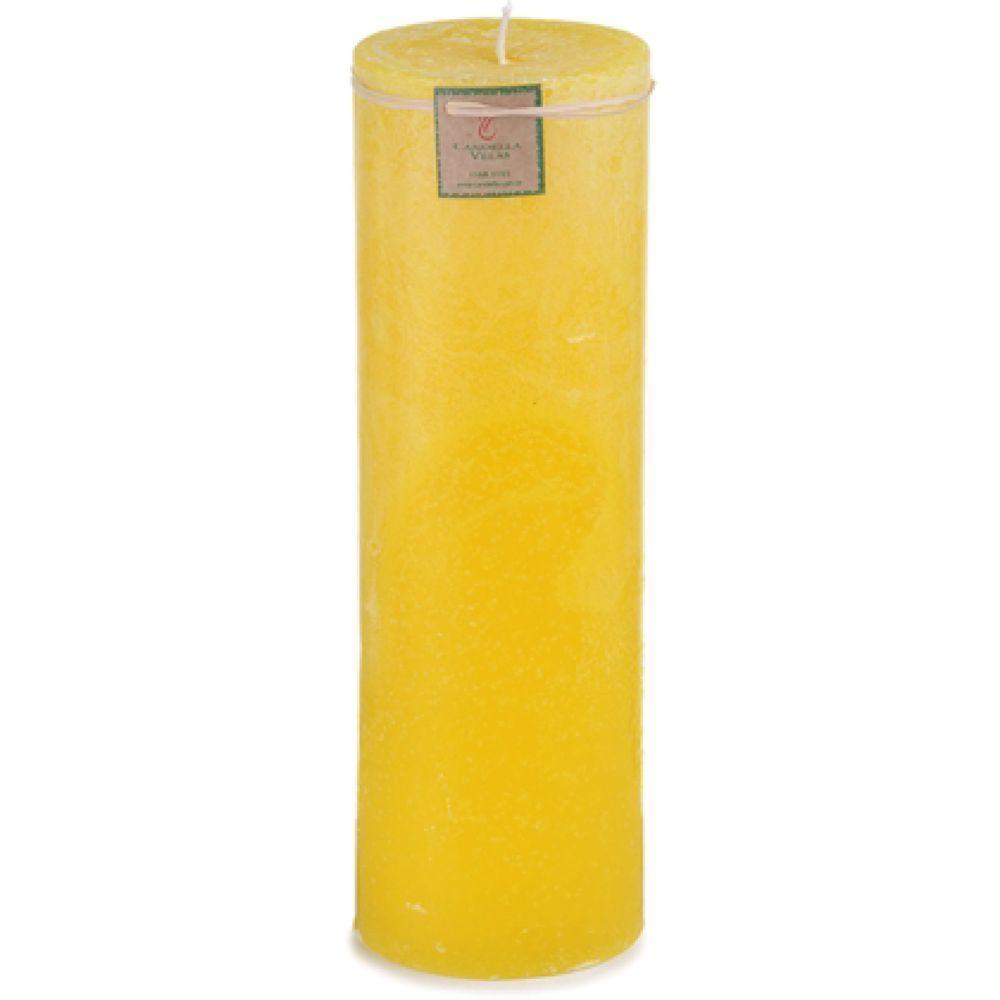 Vela de Citronela 9,5x30 Cm Cilíndrica