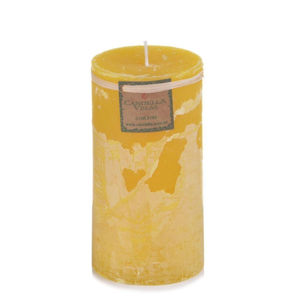 Vela de Citronela 9,5x20 Cm Cilíndrica