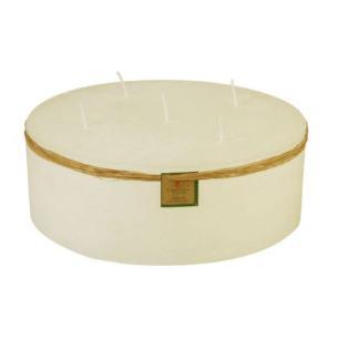 Vela Cilíndrica 30x10 Cm Marfim
