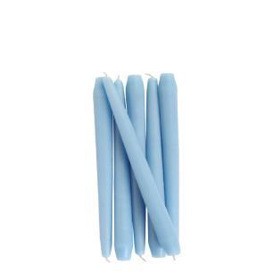 Vela Castiçal Cônica 20 Cm Azul - 6 Unid.