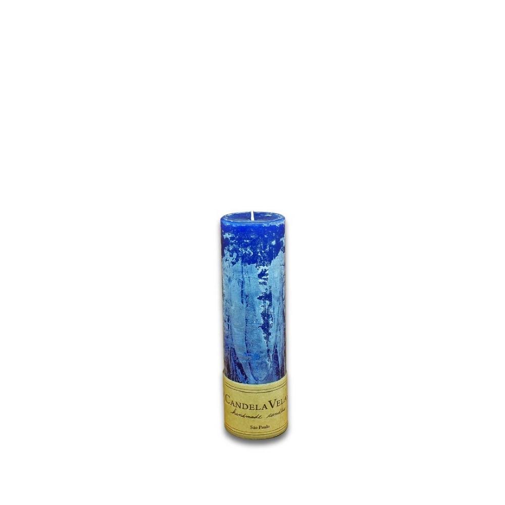 Vela Decorativa Cilíndrica 6x20 Cm
