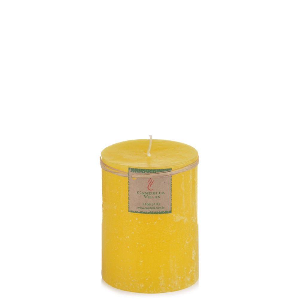 Vela Cilíndrica 7,5x10 Cm Citronela