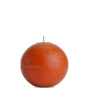 Vela Bola 12 Cm Amarela