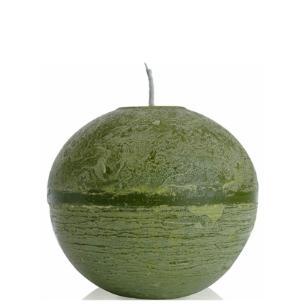 Vela Bola 15 Cm Branca