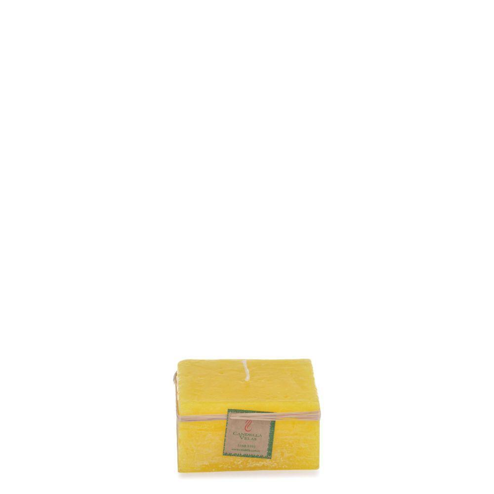 Vela Quadrada 10x5 Cm Citronela