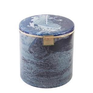 Vela Cilíndrica 20x20 Cm Azul
