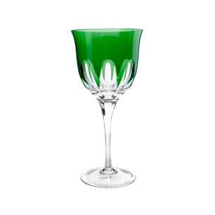 Taça de Cristal Strauss Vinho Branco 330ml - Verde Escuro - 225.103.045.014