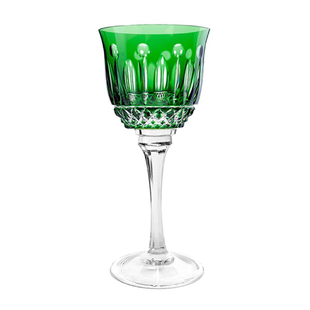Taça de Cristal Strauss Água 520ml - Verde Escuro - 225.101.069.014