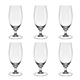 Jogo de 6 Taças em Cristal Cerveja 300ml - Selo Prata Imperattore - 104.685