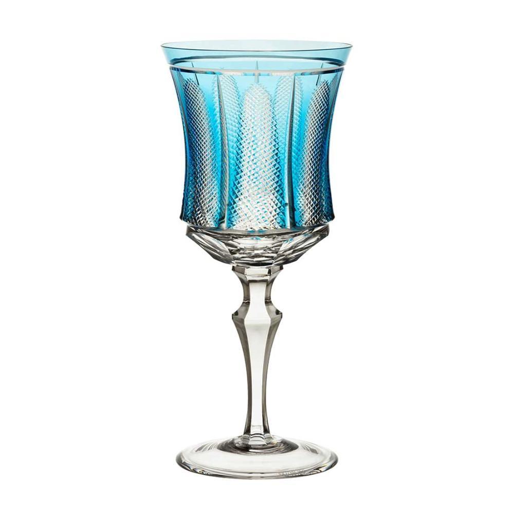 Taça de Cristal Strauss Vinho Tinto 360ml - Azul Claro - 119.102.151.016