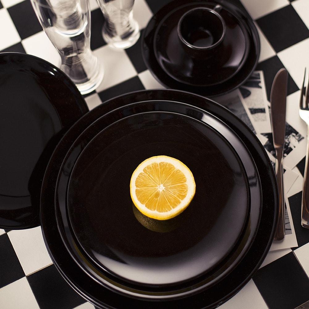 Aparelho de Jantar E Chá 30 Peças Coup Black