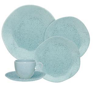 Aparelho de Jantar E Chá 30 Peças Ryo Blue Bay