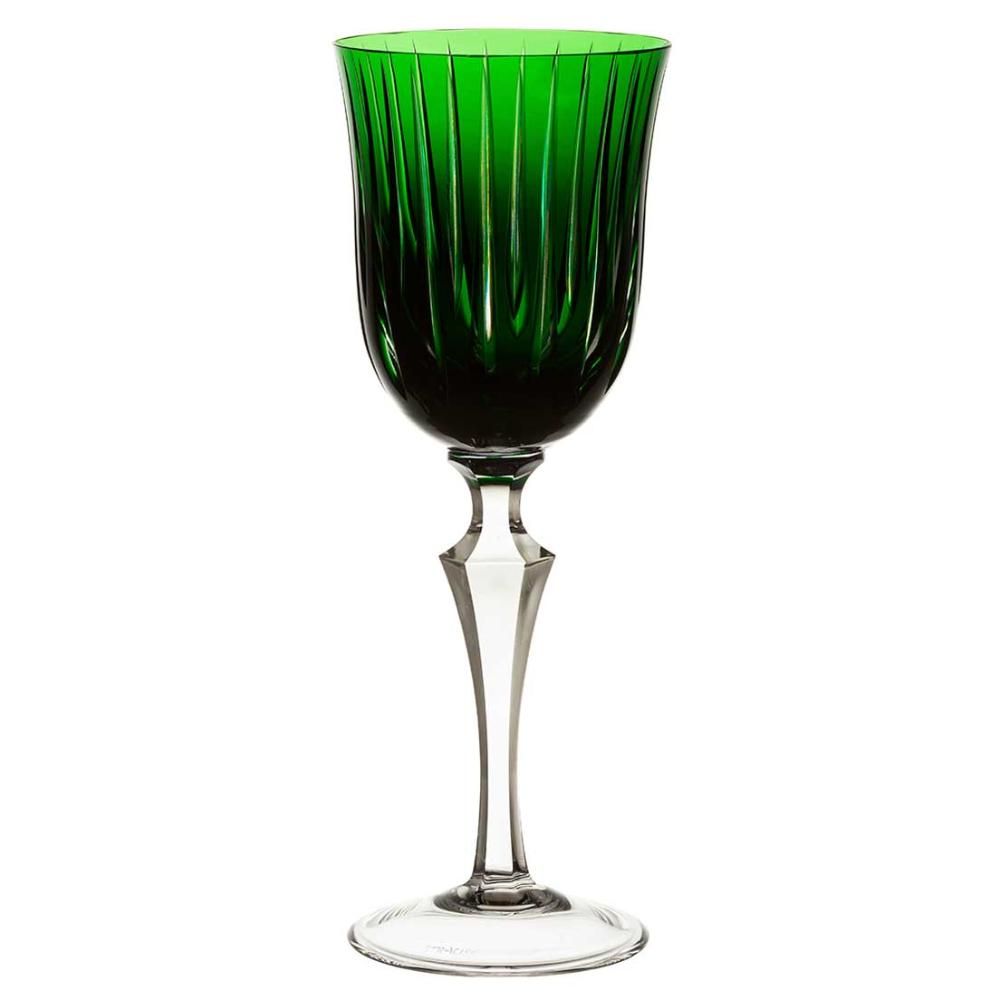Taça de Cristal Strauss Água 460ml - Verde Escuro - 237.101.150.014