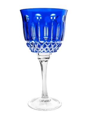 Taça de Cristal Strauss Água 520ml - Azul Escuro - 225.101.069.012