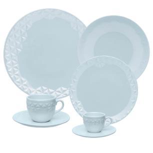 Aparelho de Jantar Chá e Café 42 Peças Mia Cristal
