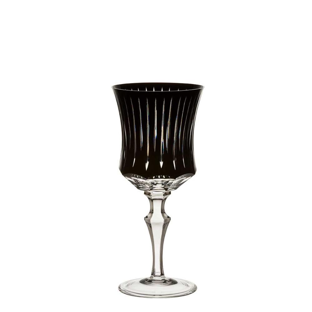 Taça de Cristal Strauss Vinho Branco 330ml - Preto - 119.103.150.018