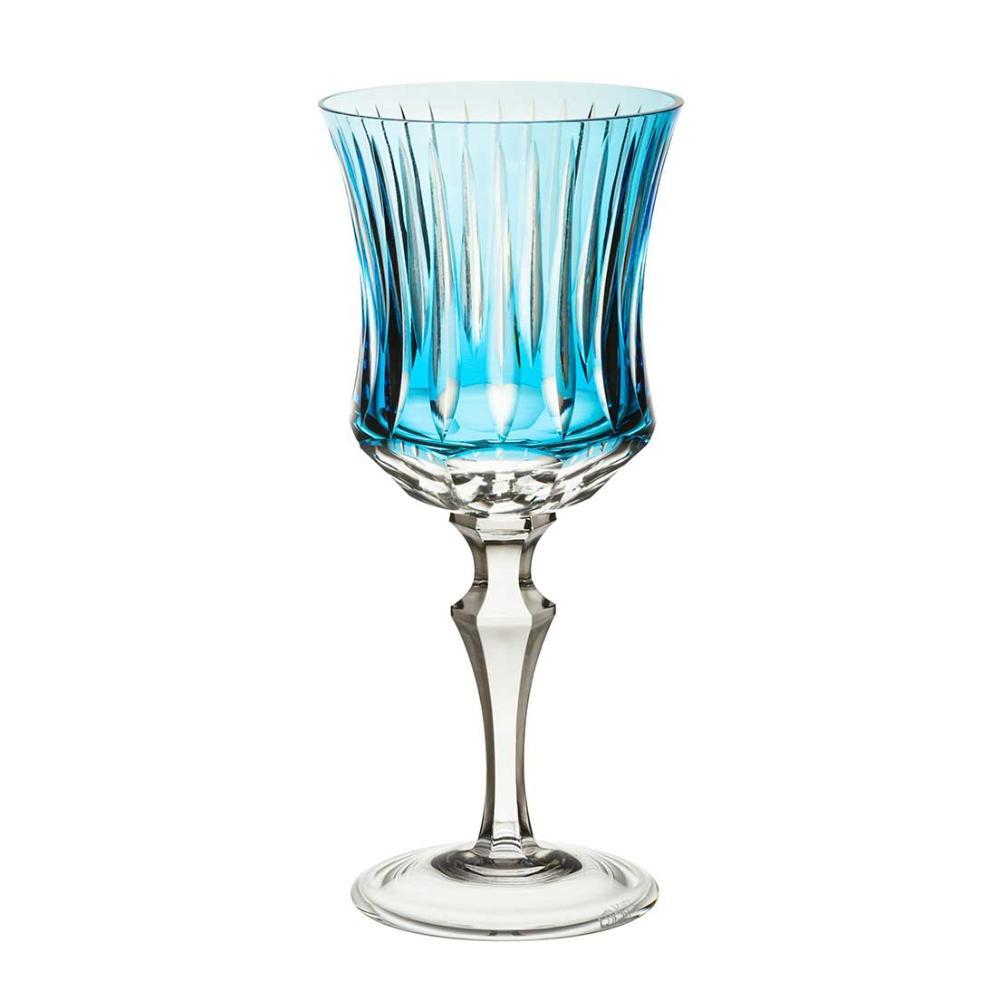 Taça de Cristal Strauss Vinho Tinto 360ml - Azul Claro - 119.102.150.016