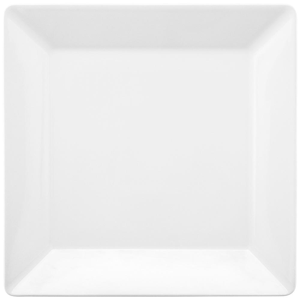 Conjunto de 6 Pratos Rasos 26,5x26,5cm Quartier White