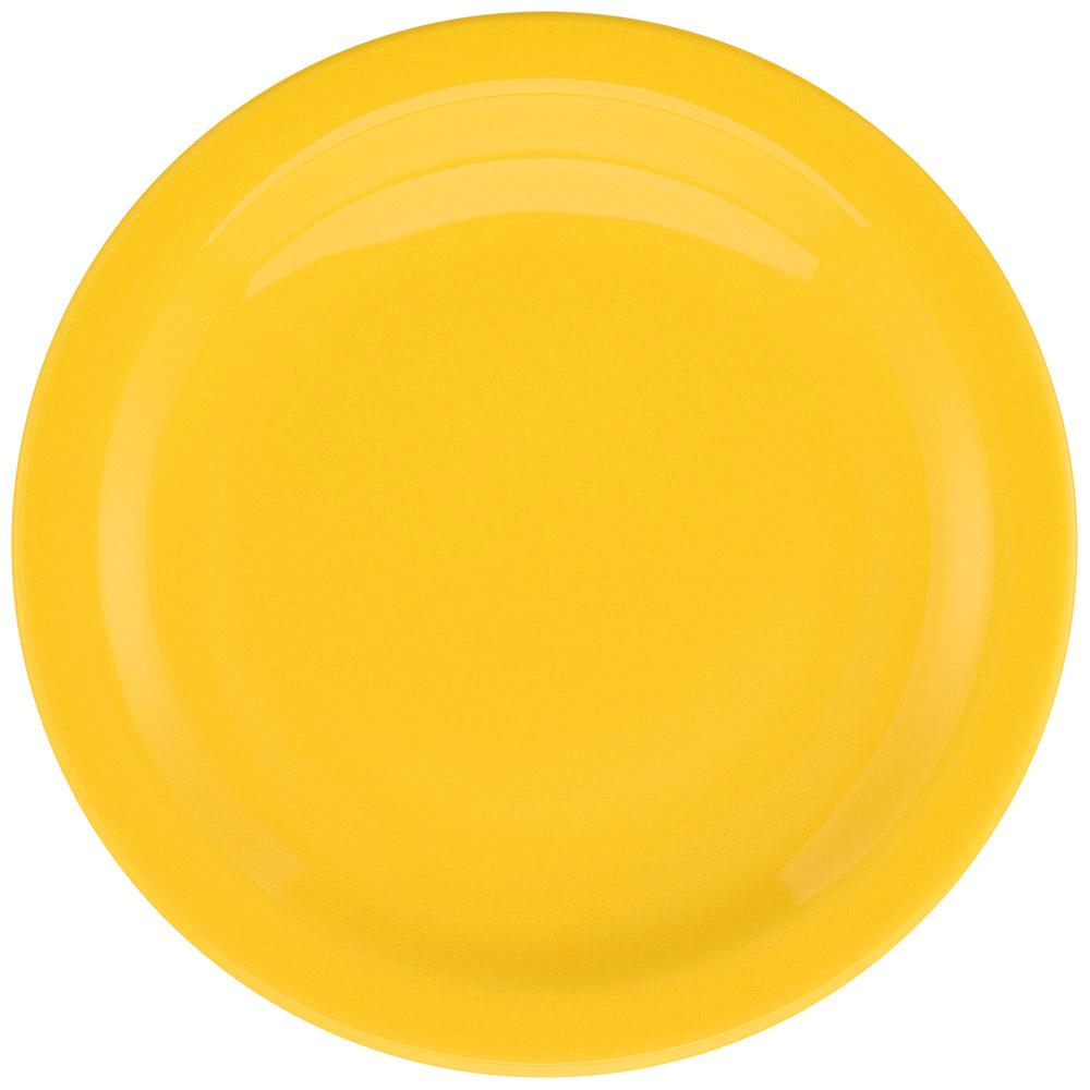 Conjunto de 6 Pratos Rasos 26cm Floreal Yellow