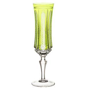 Taça de Cristal Strauss Champagne 210ml - Verde Claro - 119.107.151.011
