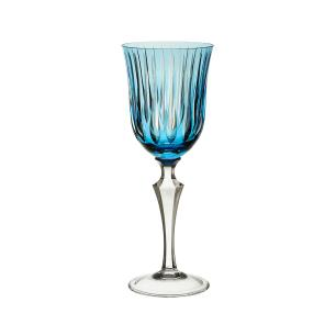 Taça de Cristal Strauss Vinho Branco 310ml - Azul Claro - 237.103.150.016