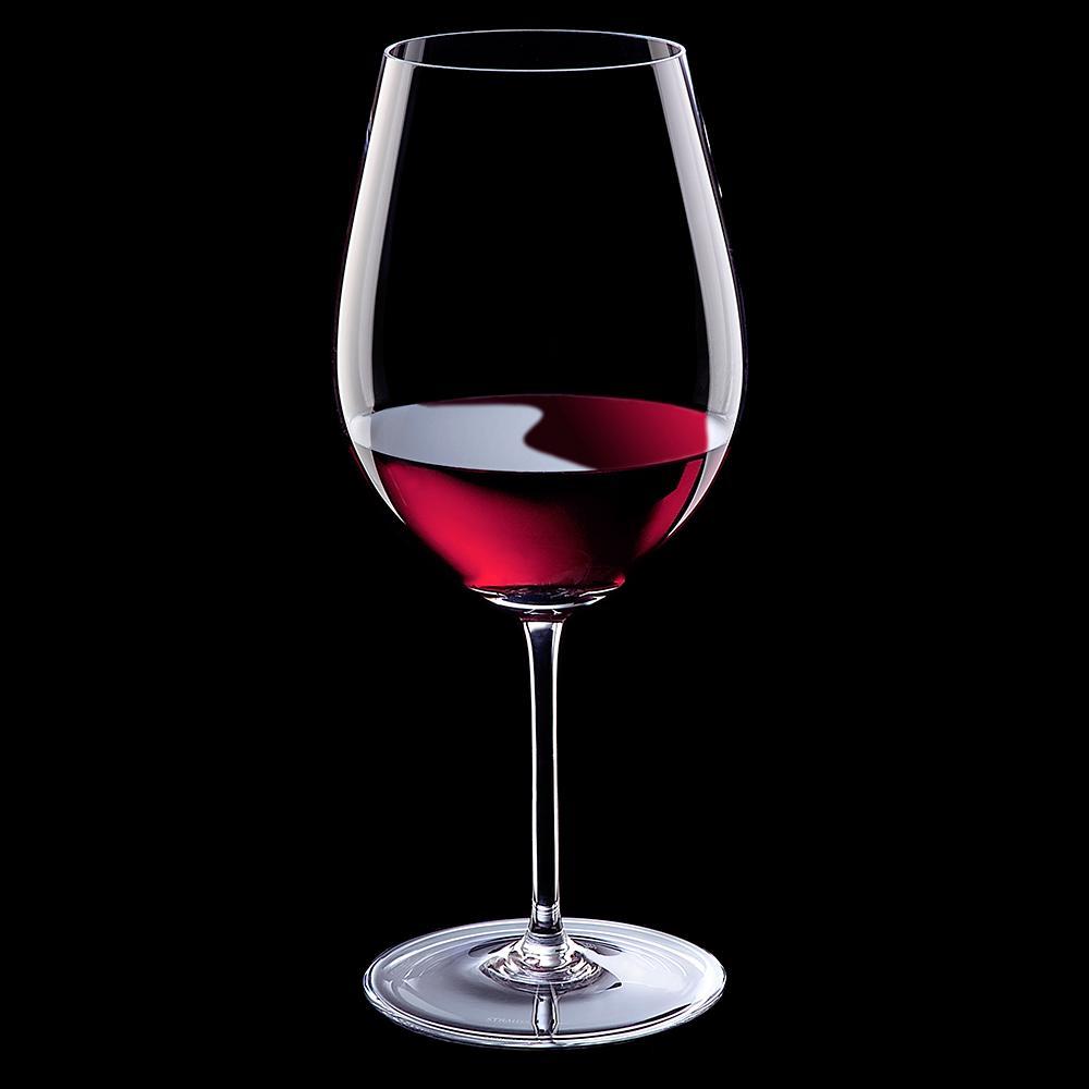 Jogo de 2 Taças em Cristal Vinho 1230ml - Selo Prata Imperattore - 192.223