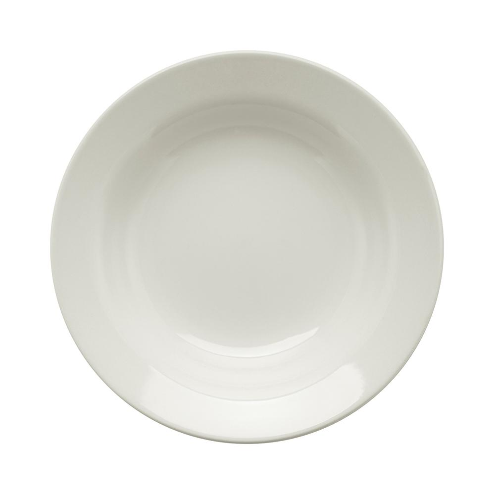 Conjunto de 6 Pratos Fundos 21cm Donna Branco