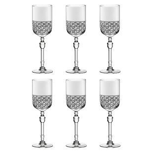 Conjunto de 6 Taças Para Vinho Branco Cidade Da Garoa