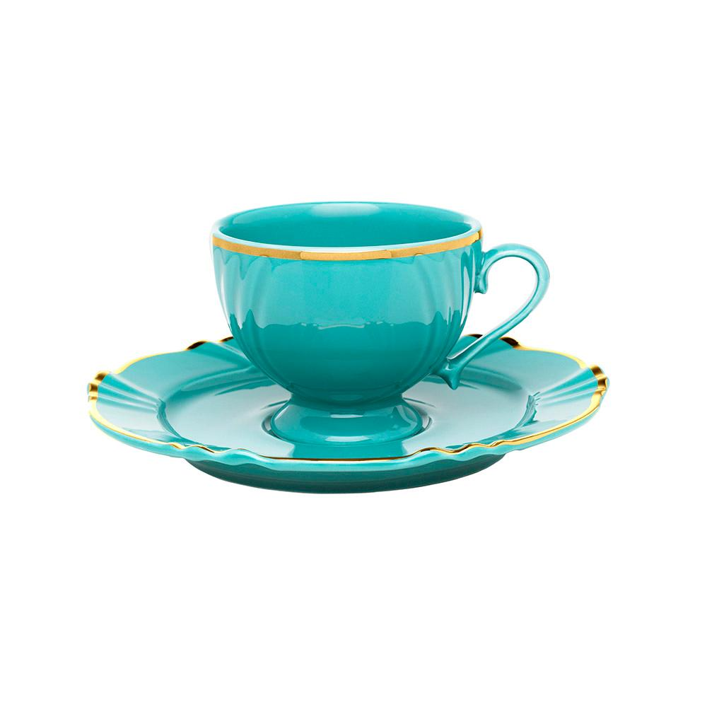 Aparelho de Jantar Chá E Café 42 Peças Soleil Aurora