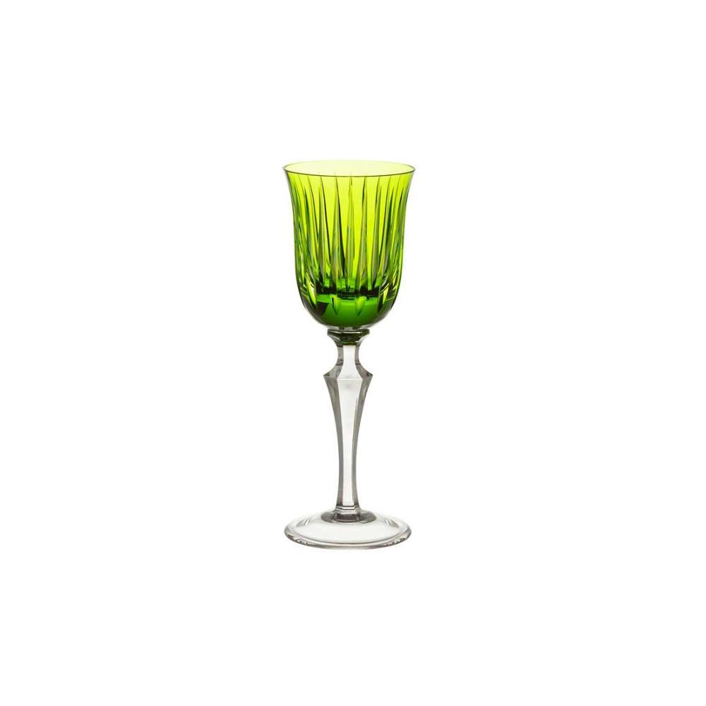 Taça de Cristal Strauss Licor 110ml - Verde Claro - 237.105.150.011